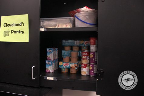 Food pantry providing extra for those who need it