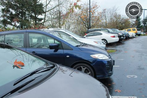 Parking lot woes have students seeing red