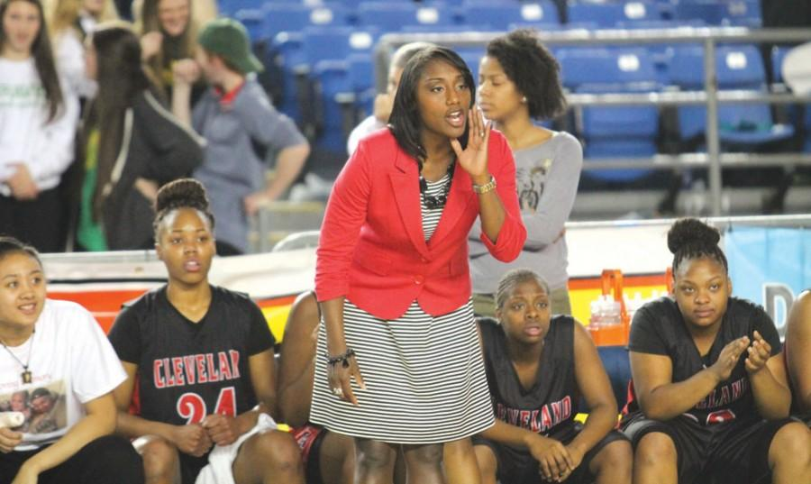 The Lady Eagles won three State Championships under Stephenie Wheeler-Smith and went undefeated against in-state teams.