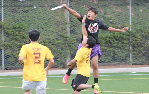 Kaloni Sadettanh is the only freshman on the varsity Ultimate Frisbee team.