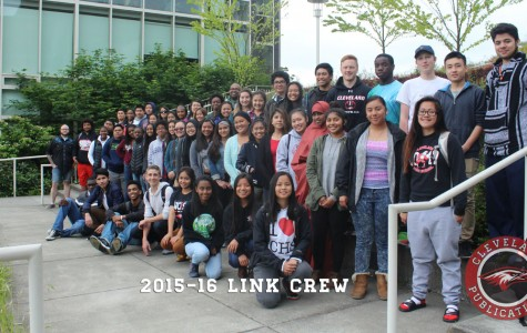 Sixty-five students were chosen to be a part of Cleveland's new Link Crew. The group's purpose is to pair upperclassmen with freshmen to guide them through their transition into high school.