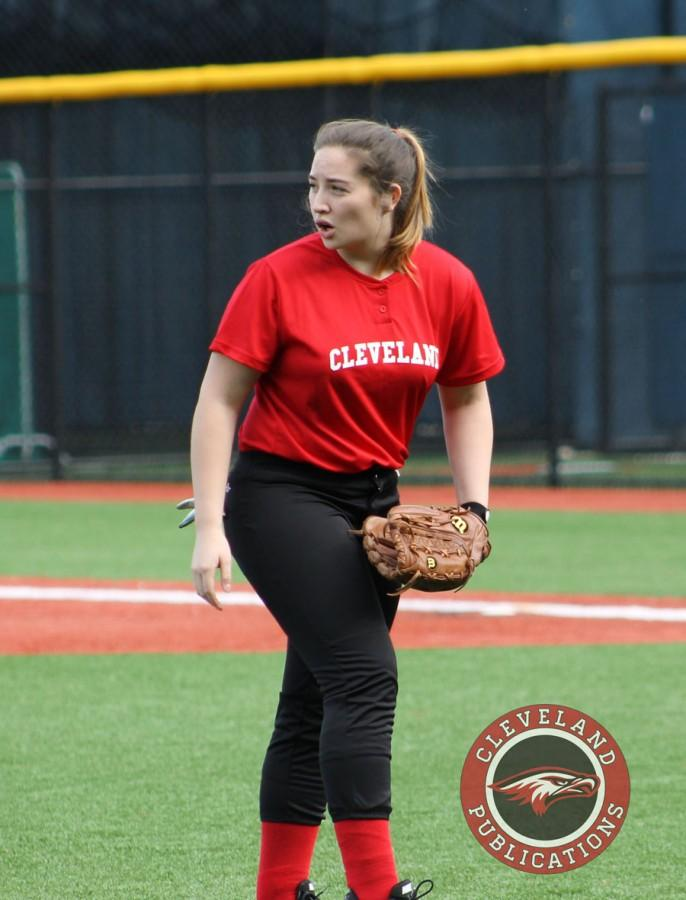 Junior pitcher Lauren Lee has played a pivital role in guiding the softball team this season.