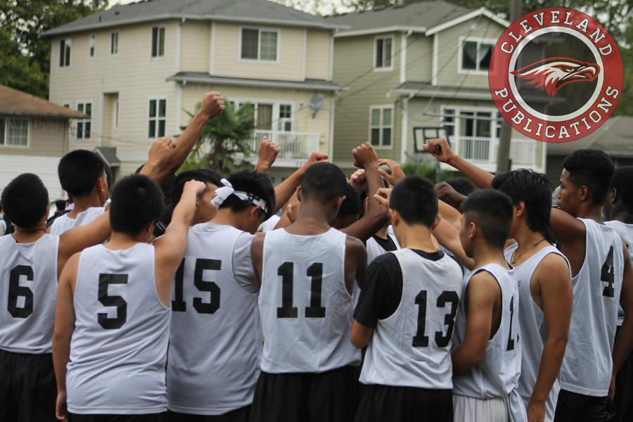 The Ultimate Frisbee team worked their way to become one of the best teams in the Metro League this season.