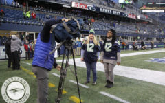 Scribner honored at Seahawks game as classroom hero